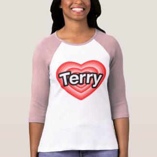 I love Terry. I love you Terry. Heart Tee Shirts
