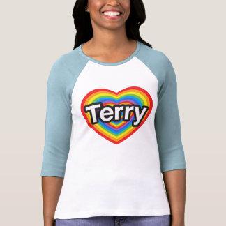 I love Terry. I love you Terry. Heart Tees