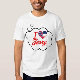 I Love Terry, Mississippi T-shirt