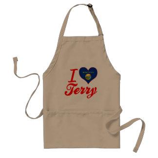 I Love Terry, Montana Aprons