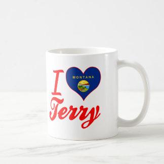 I Love Terry, Montana Mugs