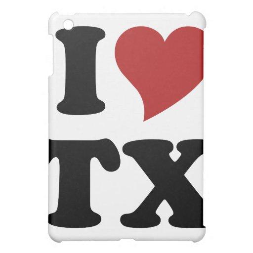 I Love Texas iPad Mini Covers