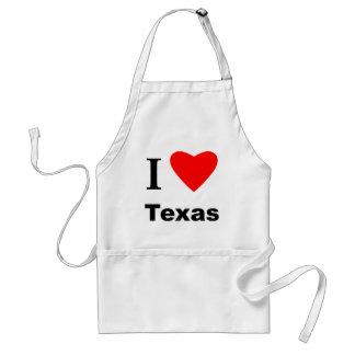 I Love Texas Standard Apron