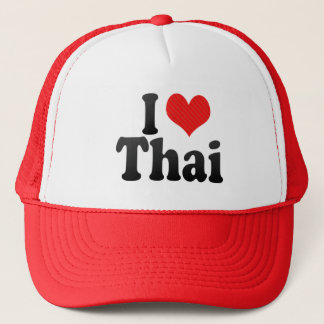 I Love Thai Trucker Hat