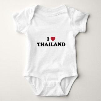 I Love Thailand Baby Bodysuit