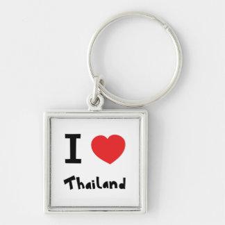 I love Thailand Key Ring