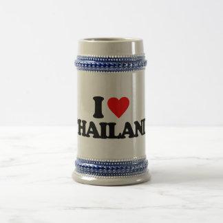 I LOVE THAILAND BEER STEINS