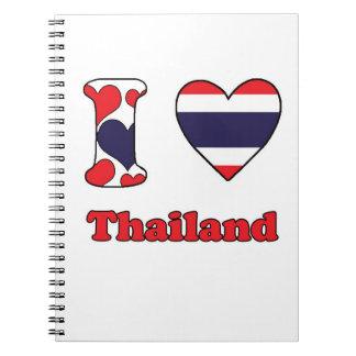 I love Thailand Notebook