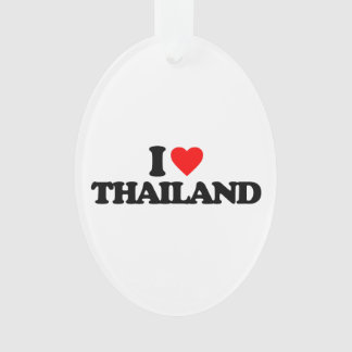I LOVE THAILAND ORNAMENT