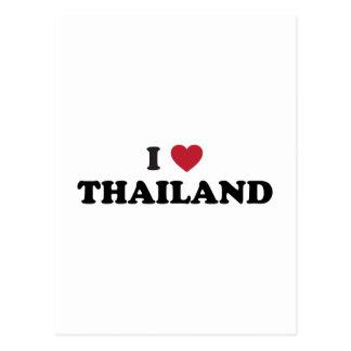 I Love Thailand Postcard