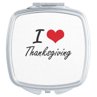 I love Thanksgiving Makeup Mirror