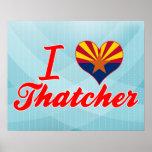 I Love Thatcher, Arizona Posters
