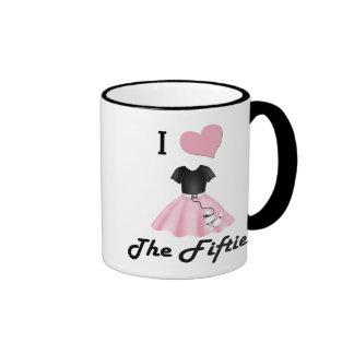 I Love the 50's Mugs
