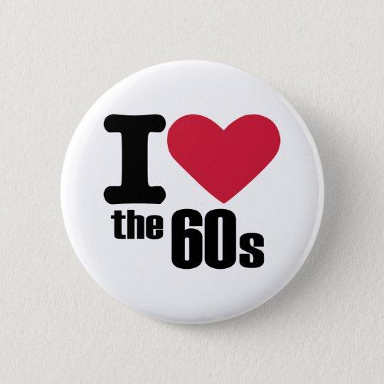 I love the 60's 6 cm round badge