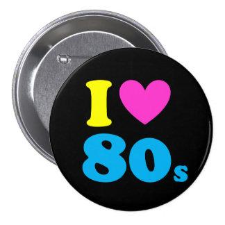 I Love The 80s 7.5 Cm Round Badge