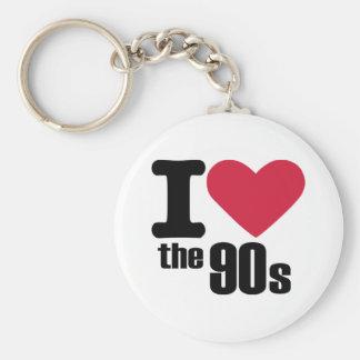 I love the 90 s keychain