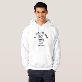I Love The ABA hooded sweatshirt