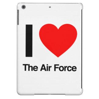 i love the air force iPad air cover