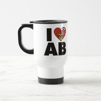 I Love The Angry Bunny Mug