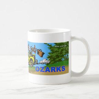 I Love the Arkansas Ozarks Basic White Mug