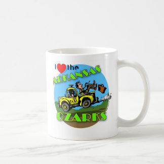 I Love the Arkansas Ozarks mug
