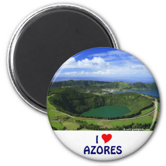 I Love the Azores Magnet