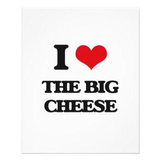 I Love The Big Cheese 11.5 Cm X 14 Cm Flyer