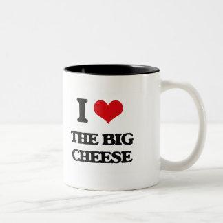 I Love The Big Cheese Two-Tone Mug