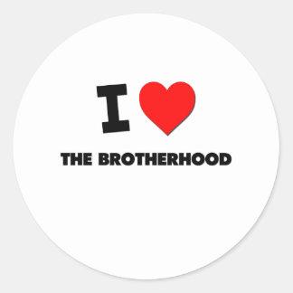 I Love The Brotherhood Stickers