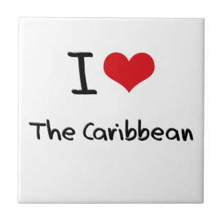 I love The Caribbean Ceramic Tile