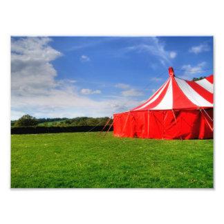 I love the circus. photographic print