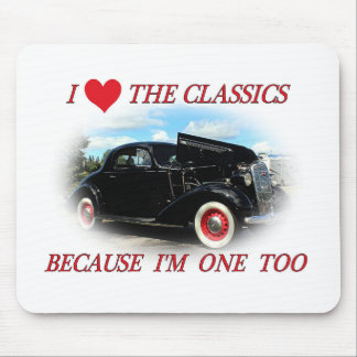 I Love The Classics 2 Mouse Pads