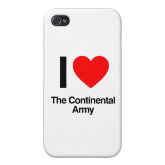 i love the continental army iPhone 4/4S cover