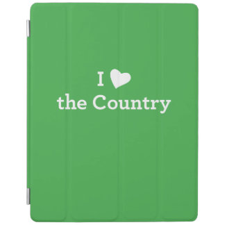 I Love the Country iPad Cover