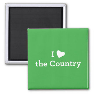 I Love the Country Magnet