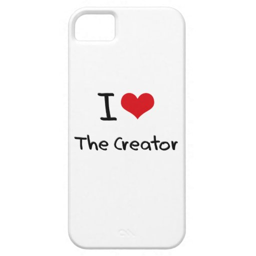 I love The Creator Cover For iPhone 5/5S