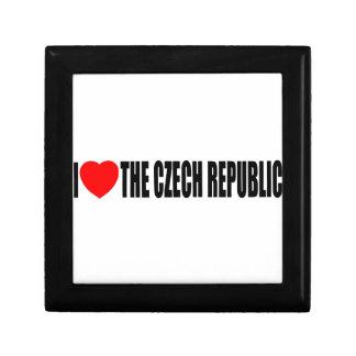 I Love The Czech Republic Gift Box