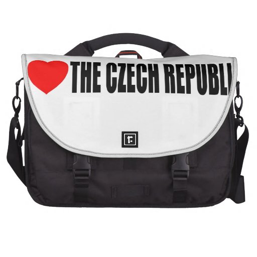 I Love The Czech Republic Bags For Laptop