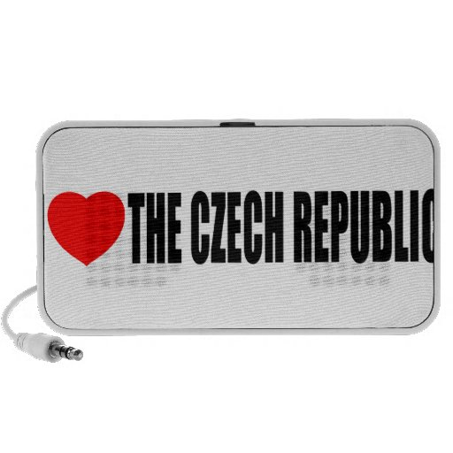 I Love The Czech Republic Travel Speakers