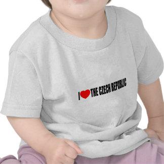 I Love The Czech Republic T Shirt
