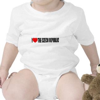 I Love The Czech Republic Baby Bodysuit