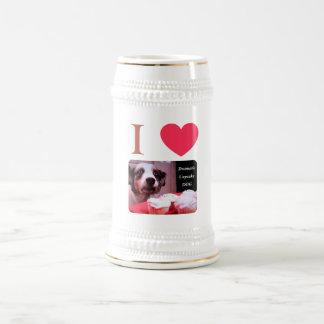 I Love The Dramatic Cupcake Dog Mugs