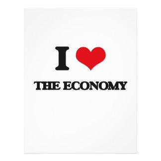 "I love The Economy 8.5"" X 11"" Flyer"