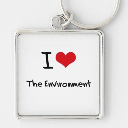 I love The Environment Keychain