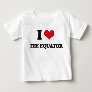 I love The Equator Tshirt