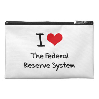 I Love The Federal Reserve System Travel Accessories Bags