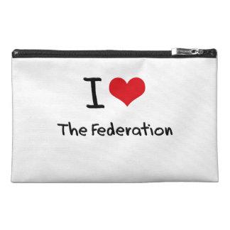 I Love The Federation Travel Accessory Bag