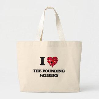 I love The Founding Fathers Jumbo Tote Bag