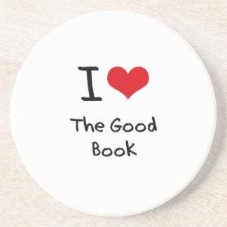 I Love The Good Book Coaster