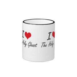 I love The Holy Ghost Ringer Mug